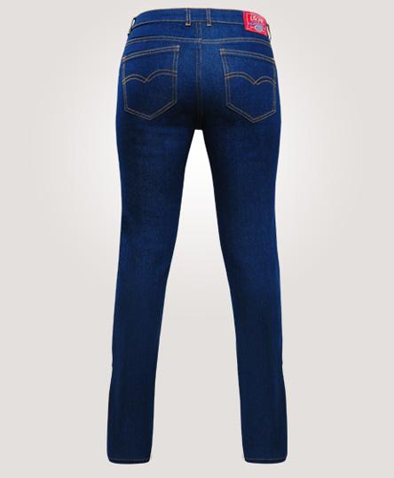 e7f33327a492f Pantalón Blue Jeans. - Para Dama. - Corte bajo. - Botón y cierre metálico.  - Prelavado. - Tallas  26 06 - 42 24